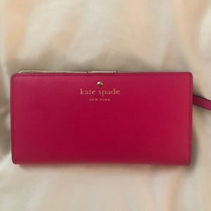 Kate Spade Hot Pink Stacy Wallet